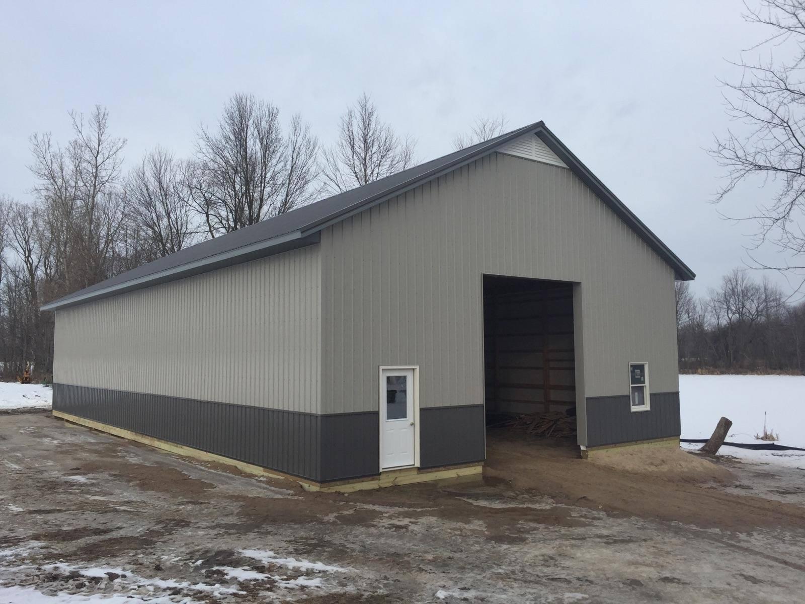 Custom Pole Barn Pole Barn Installation Walker Grand Rapids Mi Bosworth Builders Llc