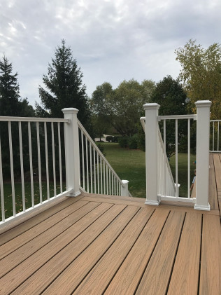 deck installation walker mi